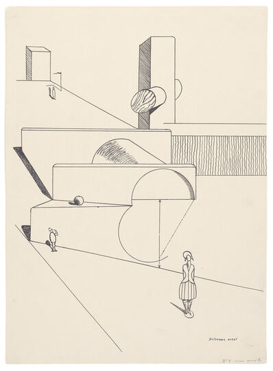 Max Ernst, 'Fiat modes pereat ars. Plate VII', 1919
