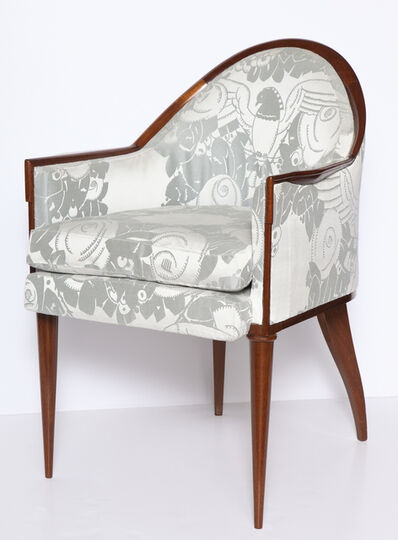 Jacques-Emile Ruhlmann, 'Fauteuil Guinde Early Art Deco Armchair', 1924-1925