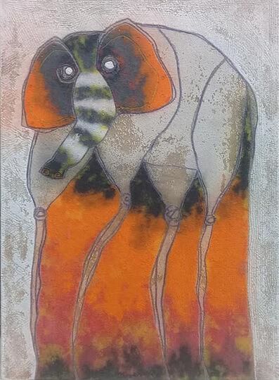 Chu Huiini, 'Le dije Baje a Salvador con un elefante', 2019
