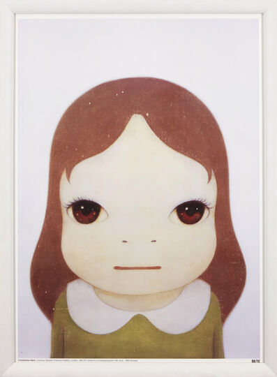 Yoshitomo Nara, 'Cosmic Girl: Eyes Open', 2008