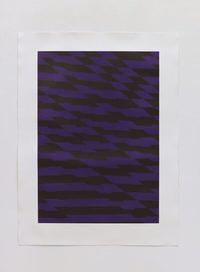 Richard Deacon, 'Blackfriars Purple', 2012