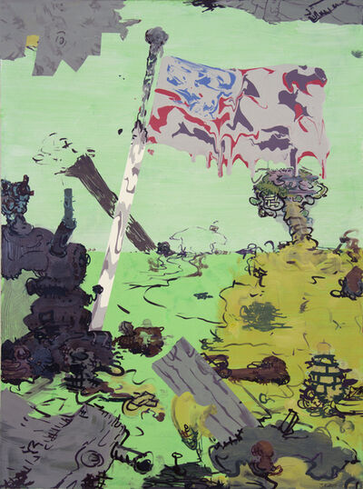 Jane Fine, 'Beetle Bailey Goose-step', 2015