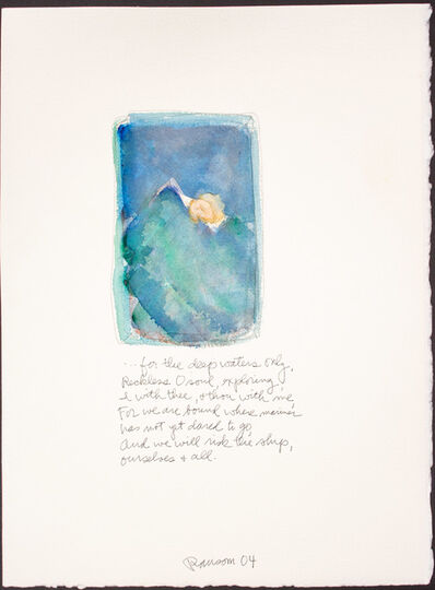 John Ransom Phillips, 'For the deep waters only...', 2004