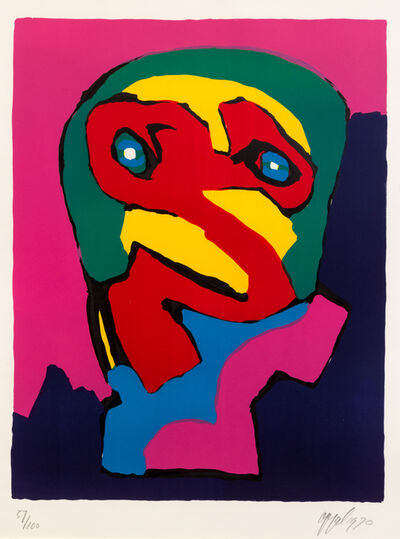 Karel Appel, 'Angoisse', 1970