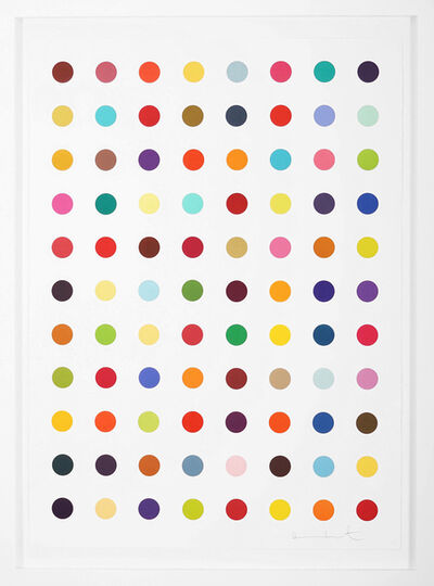 Damien Hirst, 'Vertical 'Spots' ', 2018