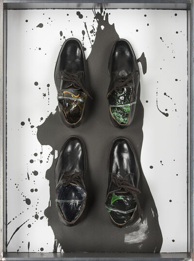 Jannis Kounellis, 'Untitled (Shoes)', 2006