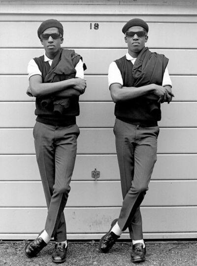 Janette Beckman, 'Rude boys Chuka & Dubem, London', 1981