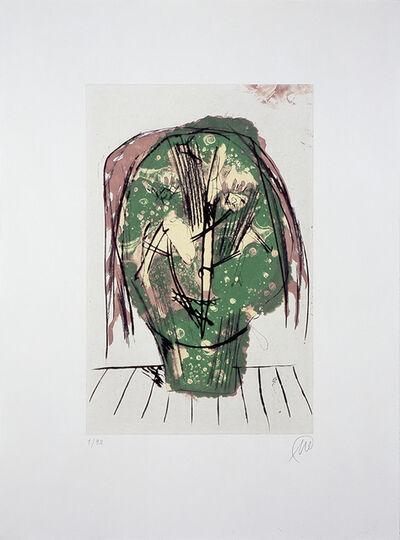 """Markus Lüpertz, 'Männer ohne Frauen - Parzival (from the portfolio """"Für die Pinakothek der Moderne"""")', 1995"""