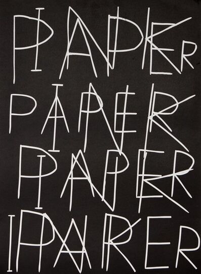 David Shrigley, 'Ink on Paper', 2017