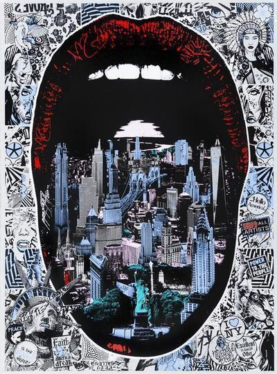 Prefab77, 'Lick NY - Blue', 2012