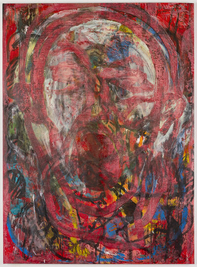 Jim Dine, 'Poet Singing in Vienna #5', 2016