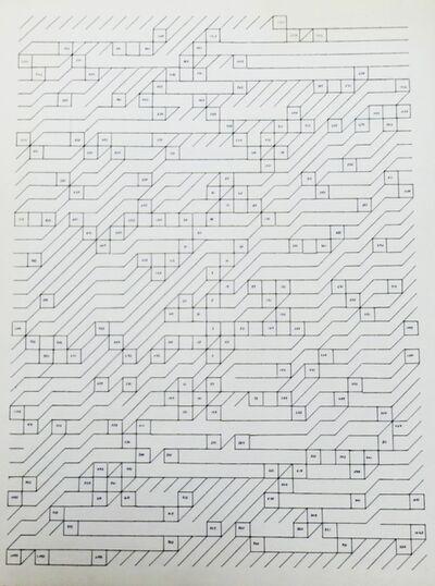 Esther Ferrer, 'Serie Números Primos', 1984