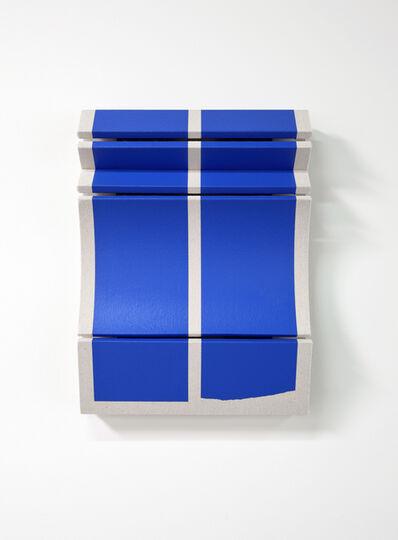 Robert William Moreland, 'Untitled Broken Blue Bars', 2019