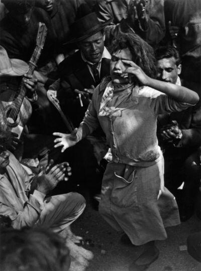 Lucien Clergue, 'Danseuse gitane Saintes Maries de la Mer, 1959'