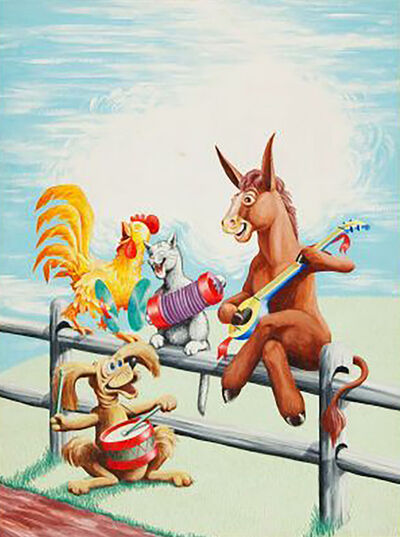 Stan Campbell, 'The Singing Donkey', 1958