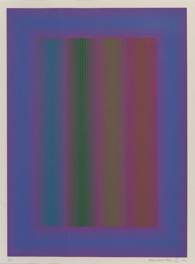 Richard Anuszkiewicz, 'Sequential VIII from the Sequential Portfolio', 1972