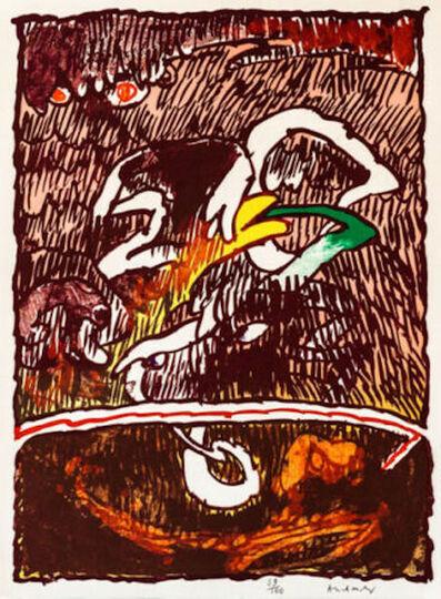 Pierre Alechinsky, 'Great Flying Object', 1978