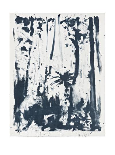Shinro Ohtake, 'Indigo Forest 4', 2015