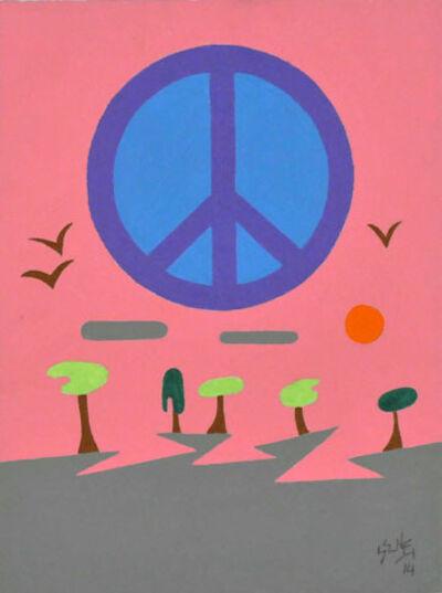 Barry Senft, 'Peace', 2014