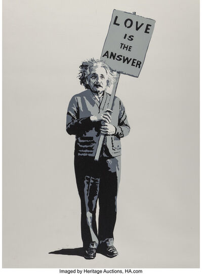 Mr. Brainwash, 'Love Is The Answer', 2008