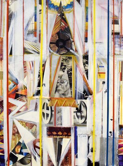Martin Cohen, 'White Interior with Wheels', 2014