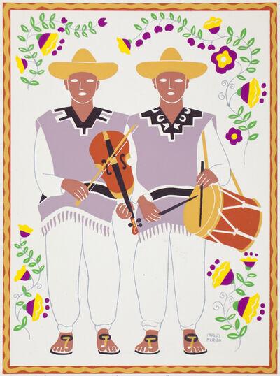Carlos Merida, 'Músicos De Atotonilco. Estado De Guanajuato.', 1945