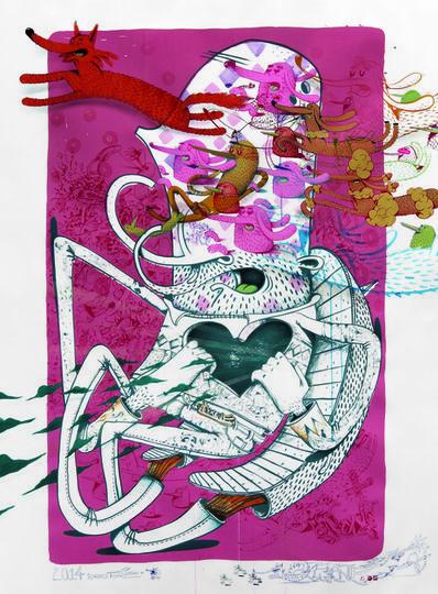 Alëxone Dizac, 'Zorro Tigre', 2014