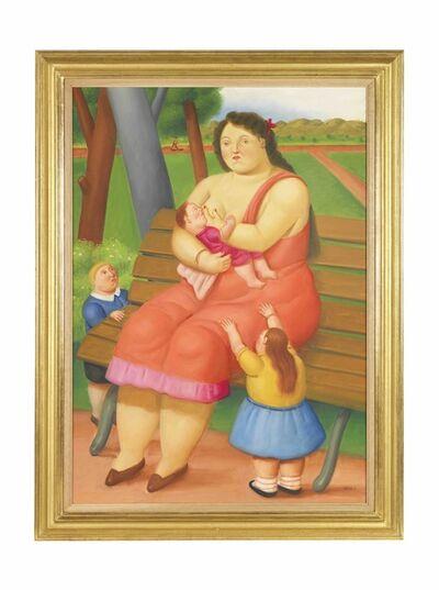 Fernando Botero, 'Maternity', 2011