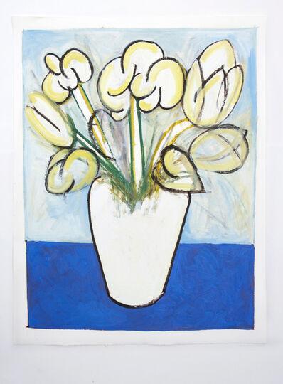Eliza Pepermans, 'Base with Tulips', 2018
