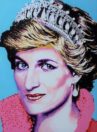 Jack Graves III, 'Princess Diana Icon III', 2019