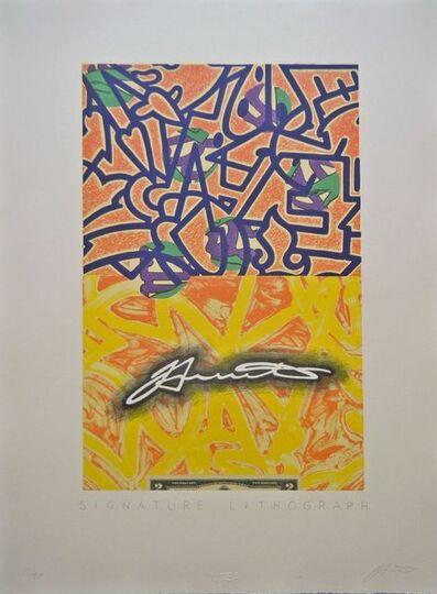 Benito Huerta, 'Signature Lithograph', 2010