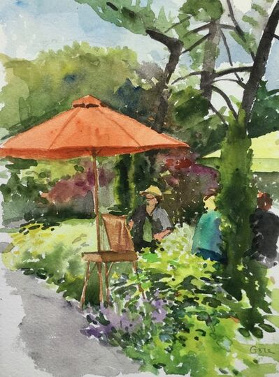 Elissa Gore, 'Orange Umbrella', 2017