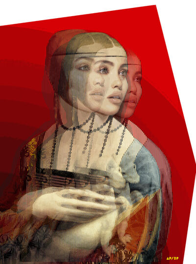 Alea Pinar du Pre, 'Lady with an Ermine', 2020