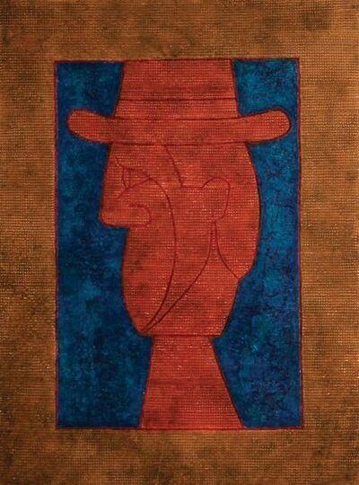 Rufino Tamayo, 'Perfil con Sombrero ( Profile with Hat)', 1982