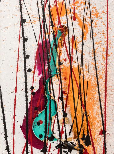 Arman, 'Colère de Violon', 2003