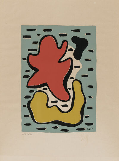 After Fernand Léger, 'Jaune et rouge', 1950