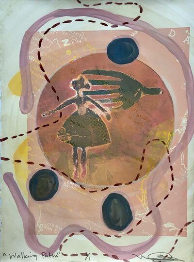 Melanie A. Yazzie, 'Walking Paths', 2018