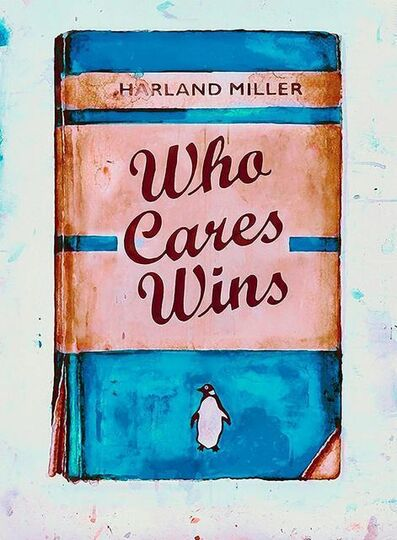 Harland Miller, 'Who Cares Wins', ca. 2020