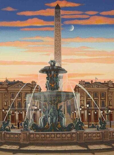 Liudmila Kondakova, 'Place de la Concorde (Toujours Paris)', 2005