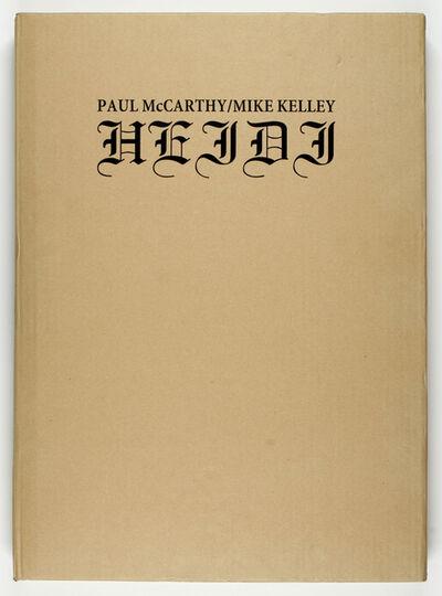 Mike Kelley & Paul McCarthy, 'HEIDI'