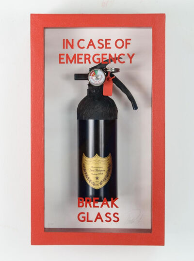 Plastic Jesus, 'In Case of Emergency Break Glass - Dom Perignon 2008', 2020