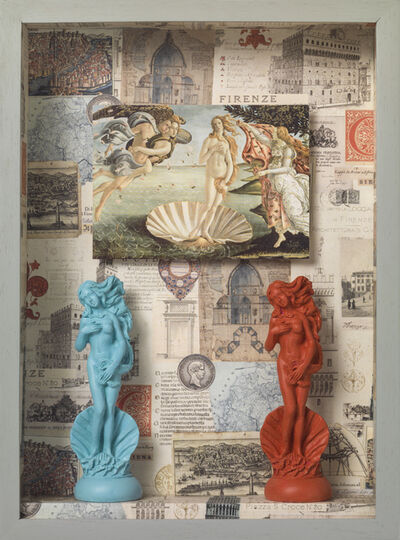 Elsa Zambrano, 'Blue Venus, Pink Venus', 2019