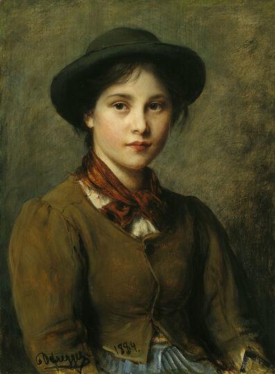 Franz von Defregger, 'Vannei', 1884