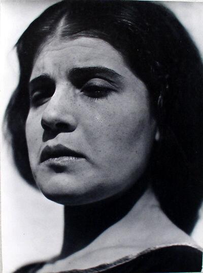 Edward Weston, 'Tina with Tear', 1924