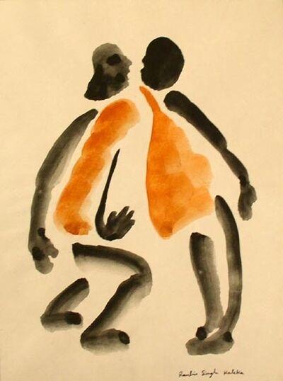 Ranbir Kaleka, 'Untitled (Two Orange Men)'