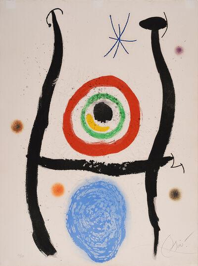 Joan Miró, 'Le Bleu de la cible'