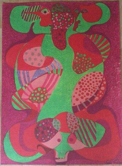 Pedro Coronel, 'Los amantes', ca. 1979