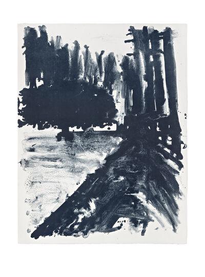 Shinro Ohtake, 'Indigo Forest 1', 2015