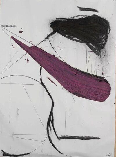 Nuno Ramos, '(cobertodenegrasalgas), Proteu series ', 2015