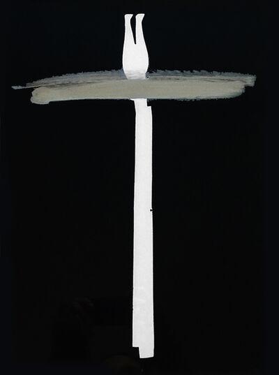 Mario Cresci, 'Rayogramma #05, dalla serie Misurazioni, Matera 1974', 1974